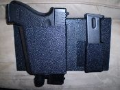 SAF-Sleeper XL Bedside Gun Holster by Nighthawk Protects