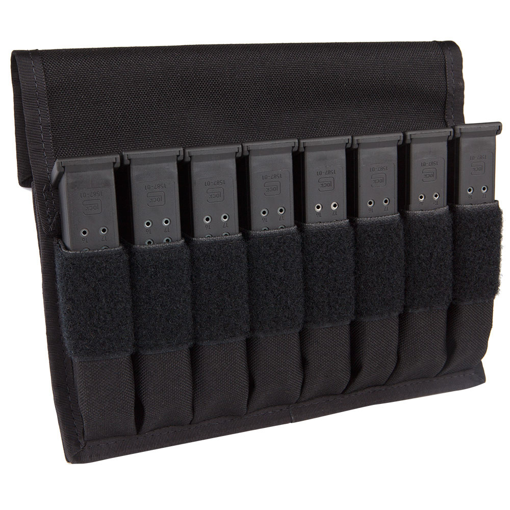 The '8 In Line Magazines Carrier' Mag Pouch by Magills