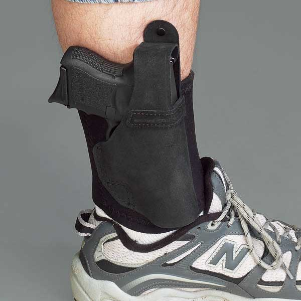 Ankle Lite Ankle Holster with Neoprene Ankle Band by Galco