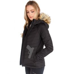Concealed Carry Alpine Faux Fur Jacket for Women by UnderTech
