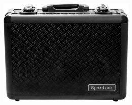 Alumalock Double Handgun Locking Case 'Black' by Sportlock