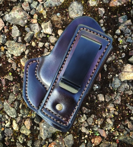 Athena 'Tuckable' Custom IWB Holster by Soteria Leather