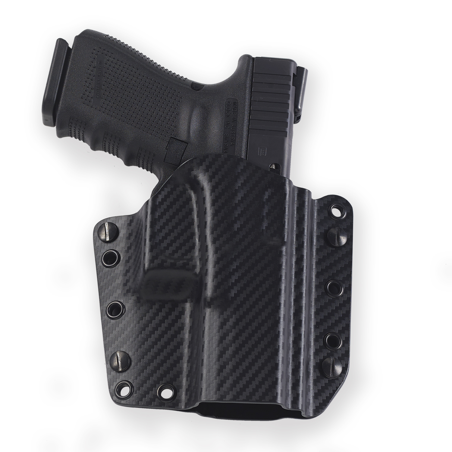 Corvus Belt (OWB) / IWB Kydex 'Carbon Fiber Finish' Holster by Galco