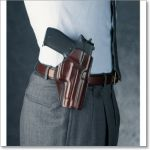 CCP 'Concealed Carry Paddle' Leather Holster by Galco