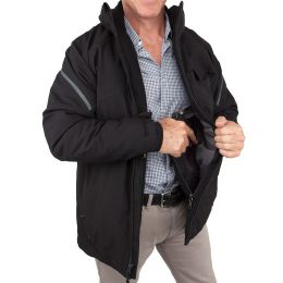 Concealed Carry Caliber Elite Parka for Men by UnderTech Undercover