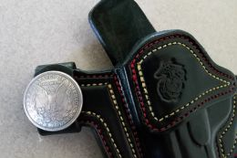 Coin & Metal Snaps 'Option' for Custom Holsters by Soteria Leather