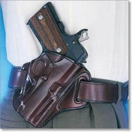 The 'Concealable' Leather OWB Handgun Holster by Galco