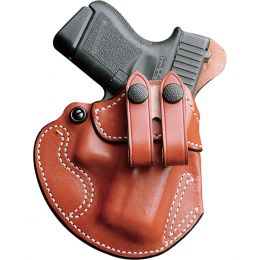Cozy Partner Leather IWB Gun Holster by DeSantis