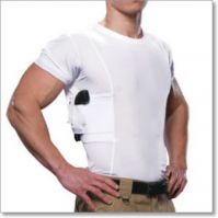 Men's Concealed Holster Crew Neck T-Shirt by UnderTech
