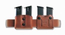 DMC 'Double Mag Carrier' Leather Mag Case by Galco