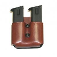 DMP 'Double Magazine Paddle' Leather Mag Pouch by Galco