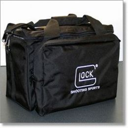 Four Pistol Padded Range Bag with Glock Logo - GlockStore