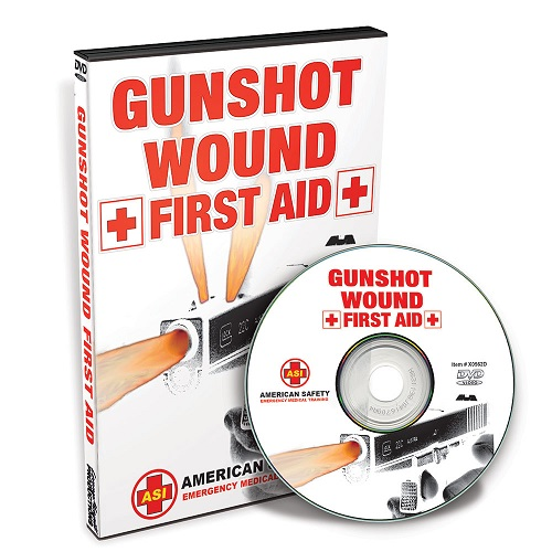 """Gun Shot Wound - First Aid"" -- DVD by John Klatt"