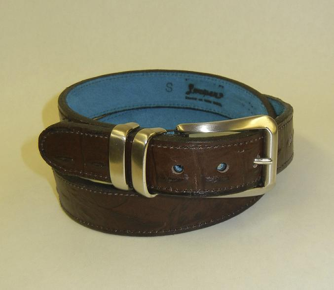 Hello Sailor Faux Crocodile Gun Belt by Flashbang Holsters
