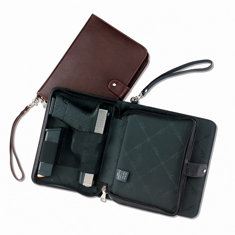 Hidden Agenda - Day Planner with Gun & Mag Holster - Galco