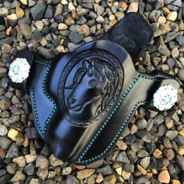 Horse Custom Engraved OWB Holster by Soteria Leather