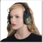 Electronic Earmuff Shooters Hearing Protection by Leight