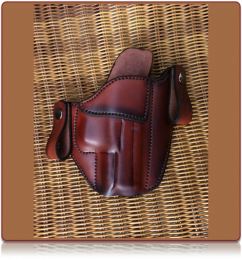 Kratos w/Snaps Custom Leather Holster by Soteria Leather