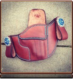 Kratos with Concho Snaps IWB Holster by Soteria Leather