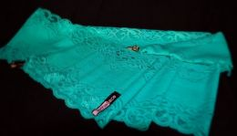 Teal Lace Short Holster by Lethal Lace