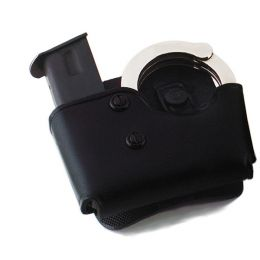 MCP 'Cop Mag Cuff Paddle' Leather Paddle Holster by Galco