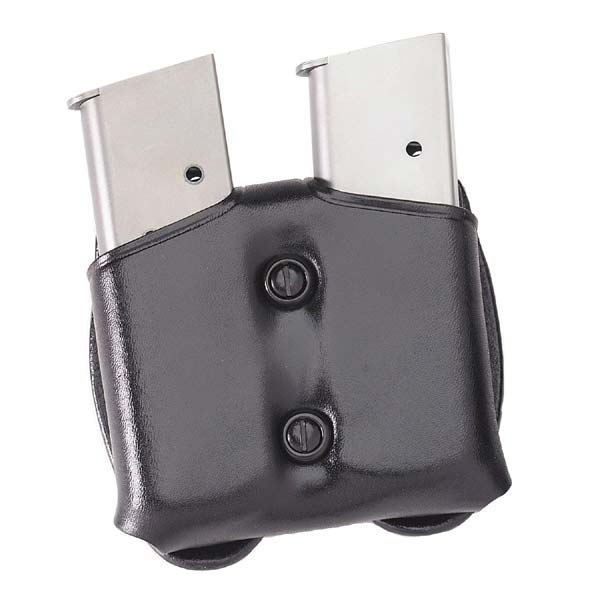 CDM 'COP Double Mag Case' Leather Mag Pouch by Galco