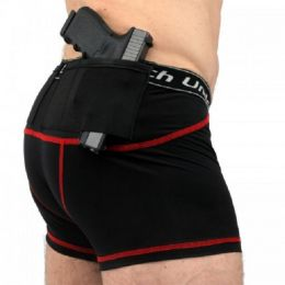 Men's Handgun Concealment Holster Trunks by UnderTech