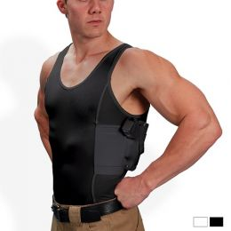 Men's Concealed Carry Holster Tank Top T-Shirt - UnderTech