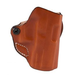 Mini Scabbard Leather OWB Gun Holster by DeSantis