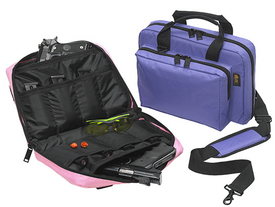 Mini Range Bag with 8 Mag Holders - Purple -- USPeacekeeper