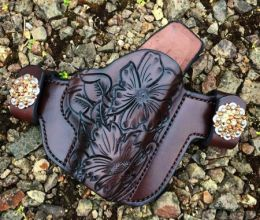 Swarovski Crystals Snaps 'Option' for Custom Holsters by Soteria Leather