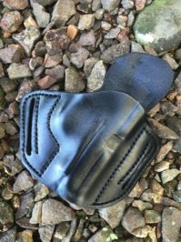 Nomos Custom Leather OWB Holster by Soteria Leather
