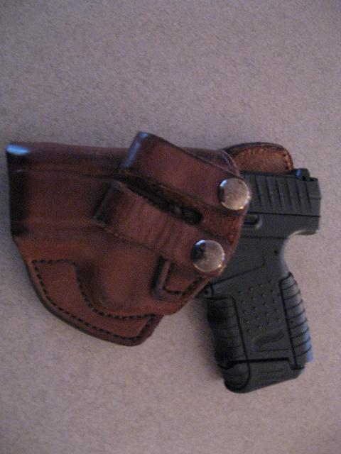 Notus Custom Leather Iwb Holster By Soteria Leather