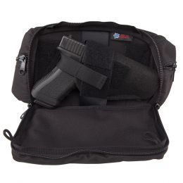 Nylon Fanny Pack 'Concealed Gun & Mag Pouch' by DeSantis
