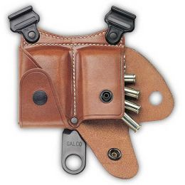 SCA Leather Cartridge Case for Shoulder Systems by Galco