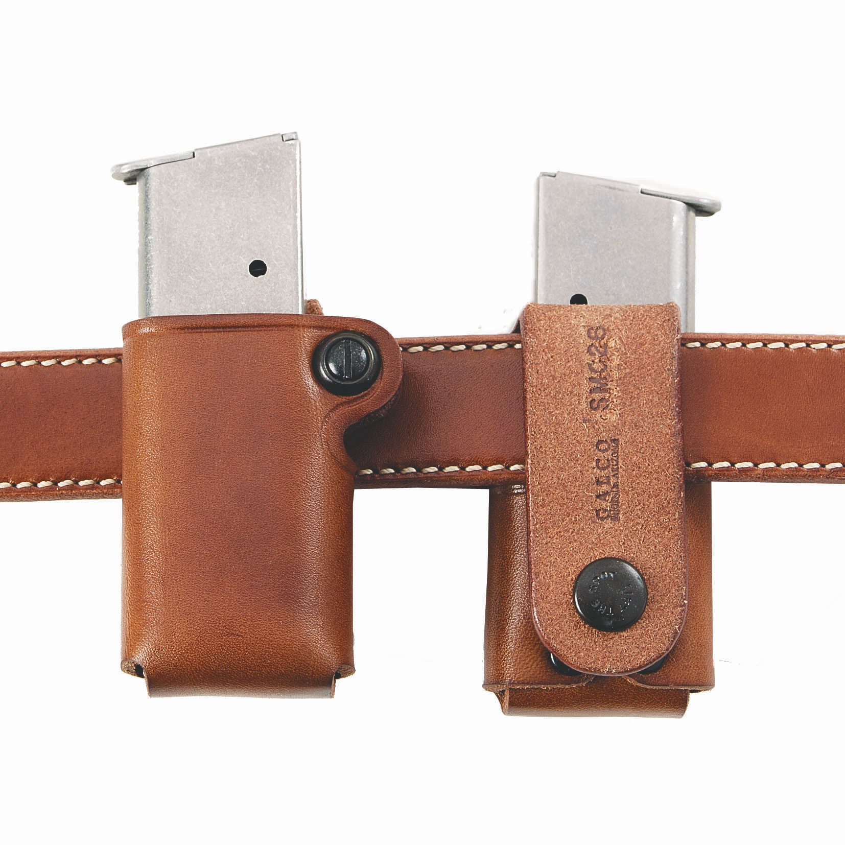 SMC - 'Single Magazine Case' - Leather Ammo Pouch by Galco