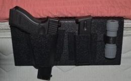 SAF-Sleeper Bed 'Gun-Light-Mag' Holster - Nighthawk Protects