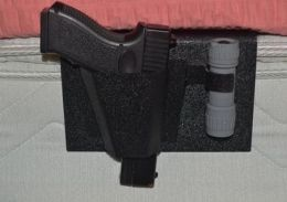 SAF-Sleeper Holster w/ Flashlight Holder - Nighthawk Protects
