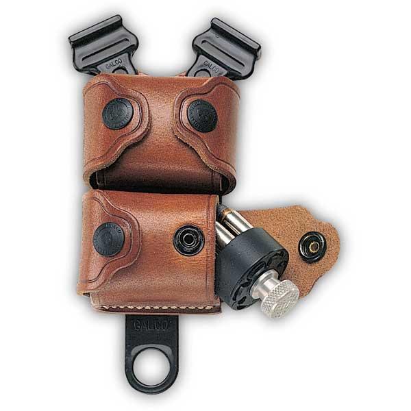 SSL Leather Speed Loader Case For Shoulder Holsters