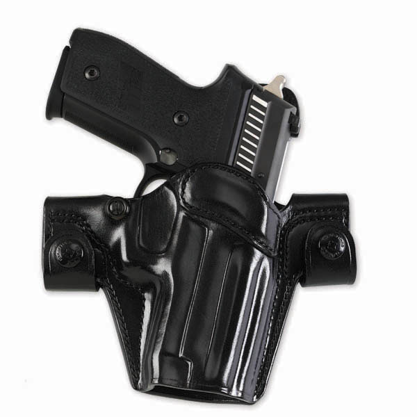 Side Snap Scabbard 'Gen 2' Leather OWB Holster by Galco