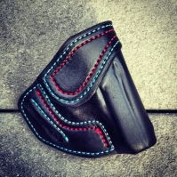 Double Stitching 'Option' for Custom Holsters - Soteria Leather