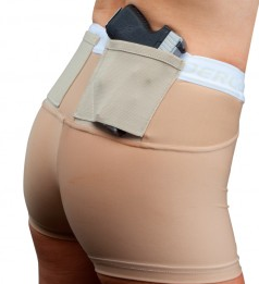 "Woman's Compression Gun Holster 2"" Shorts - UnderTech"