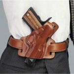 Silhouette High Ride OWB Leather Gun Holster by Galco