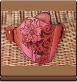 Soteria Floral 'Revolver-1' Custom Holster by Soteria Leather