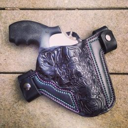 Soteria Floral Custom OWB Holster by Soteria Leather