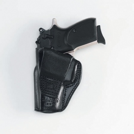 Concealed OWB Leather Holster Right Hand Gun Pistol for Glock 19 23 26 27 42 43