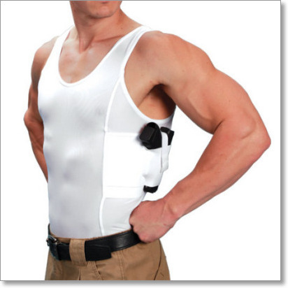 bf611a8cb5bf33 Men s Concealed Carry Holster Tank Top T-Shirt - UnderTech