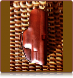 The 'Techne' Custom Leather Pocket Holster by Soteria Leather