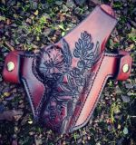 Soteria Floral 'Texas' Custom Holster by Soteria Leather