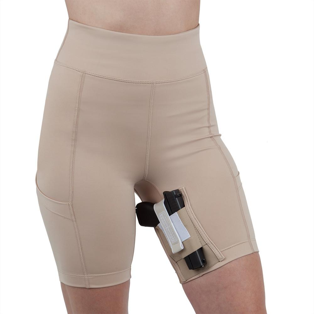 Thigh Holster Shorts for Women by UnderTech Undercover